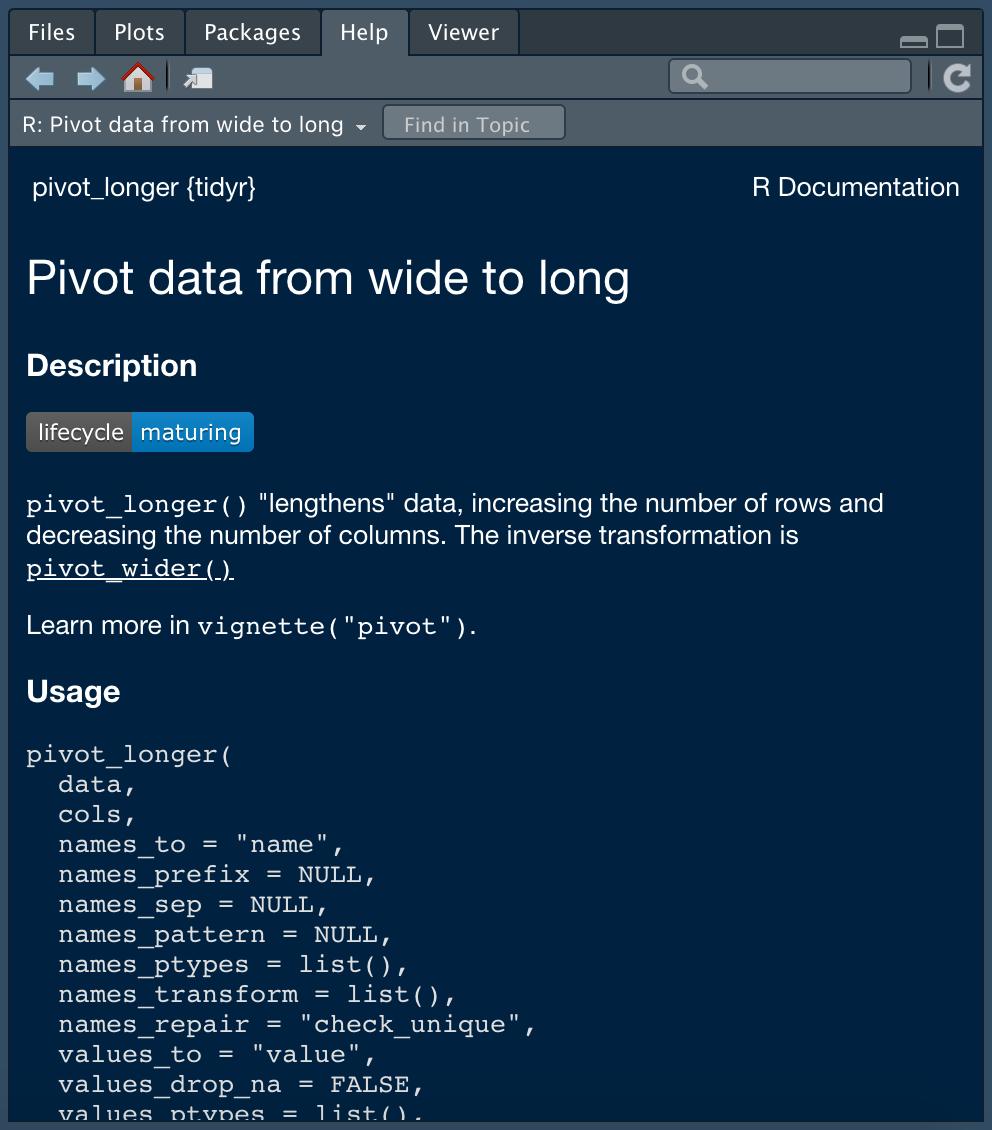 pivot_longer Help
